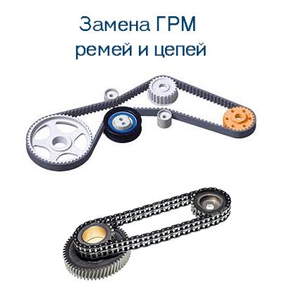 Замена ремней и цепей ГРМ