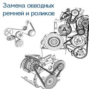 Read more about the article Замена роликов и обводных ремней