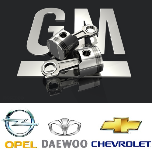 Ремонт двигателей GM Chevrolet Opel